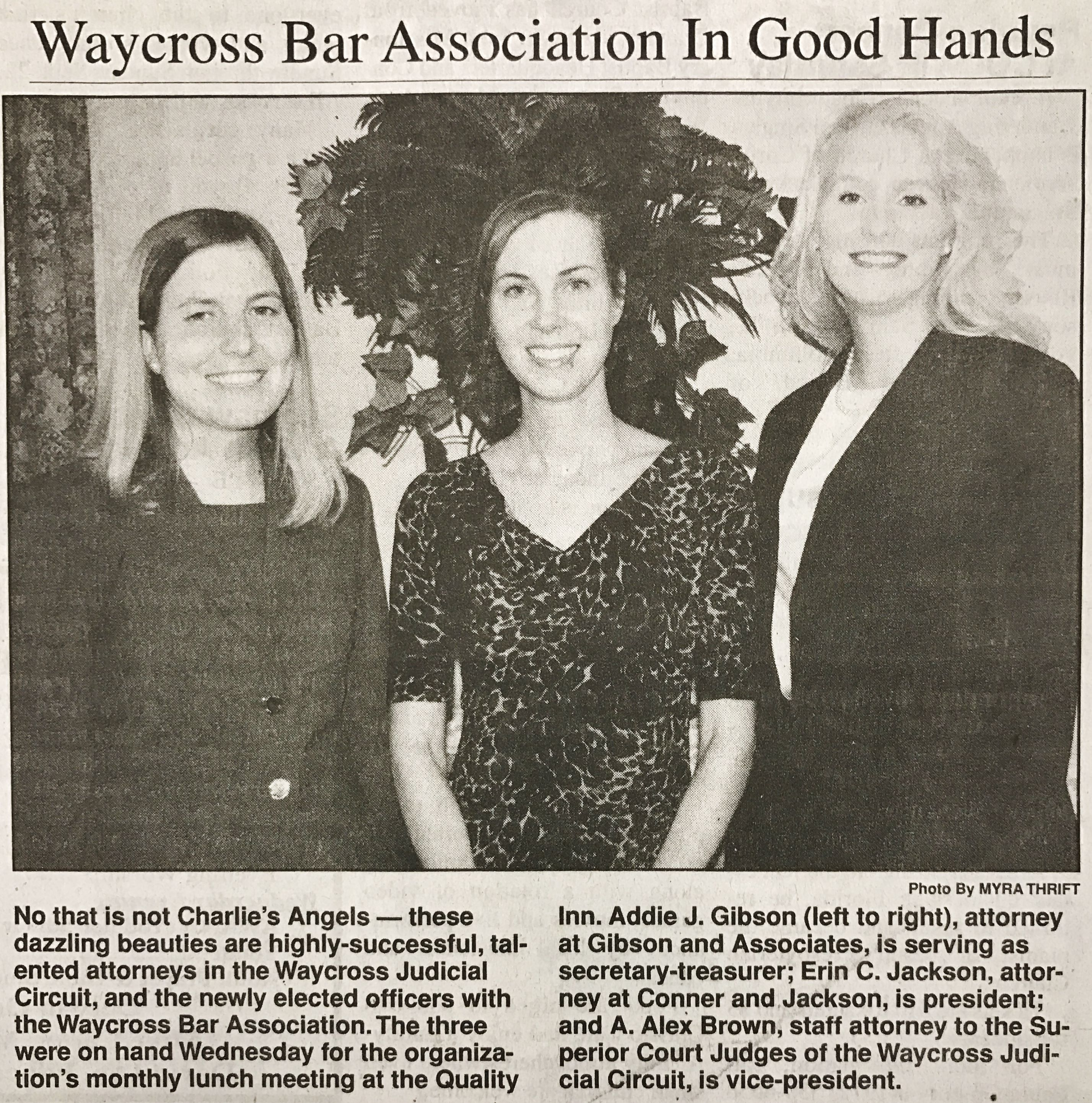 Waycross Bar Association In Good Hands