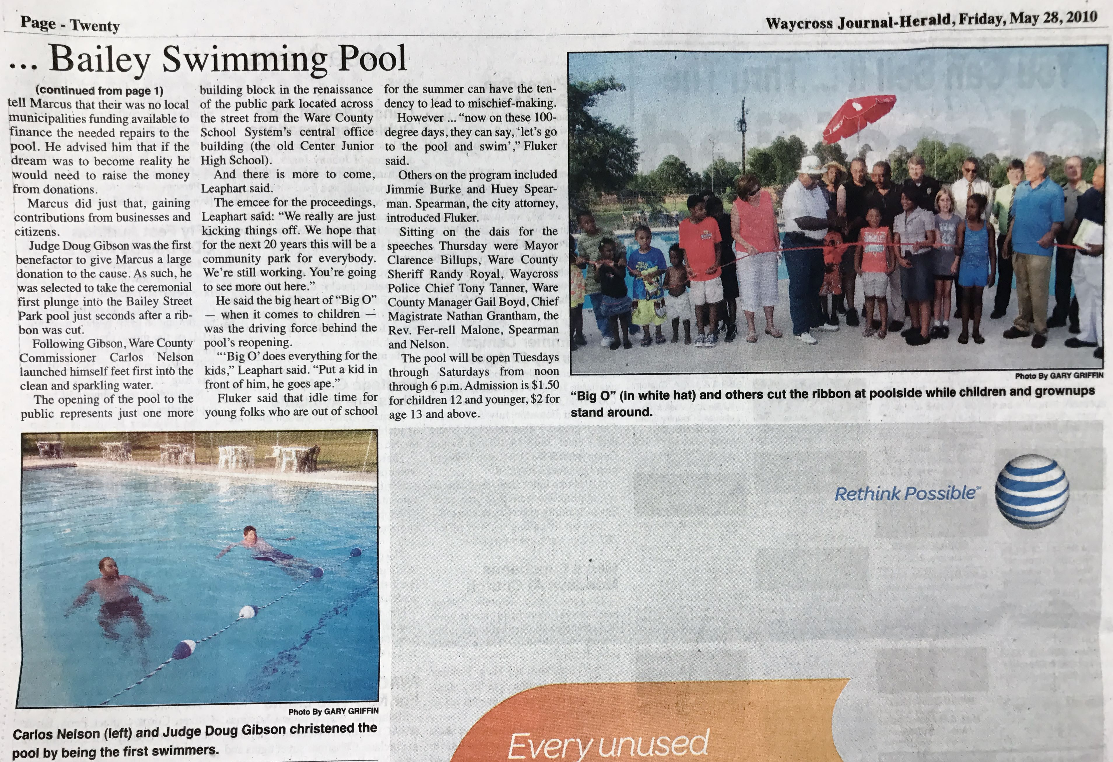 Bailey Park Pool Opens